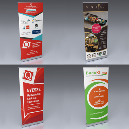 MQM Grafik Werbe-design Roll-up